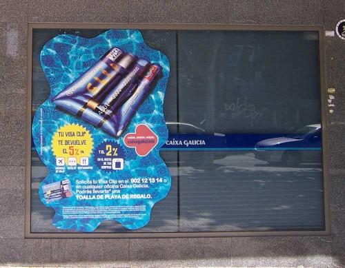 <p>Instalación de vinilo por la Comunidad Valenciana</p>