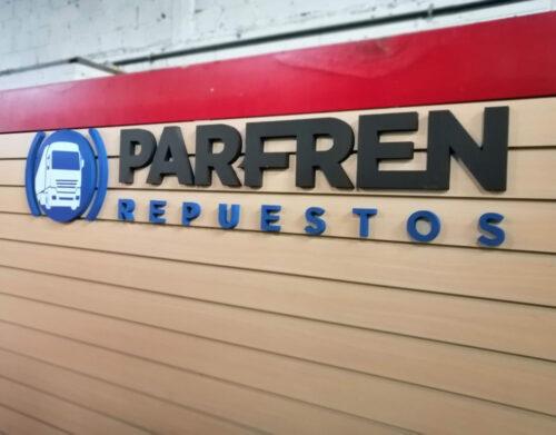 <p>Diseño y fabricacion de logo corpóreo en polyfan</p>