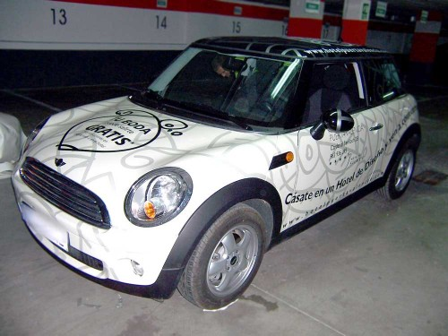 Ploteo integral de mini cooper