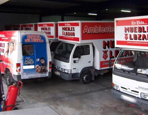 Ploteo integral flota de camiones
